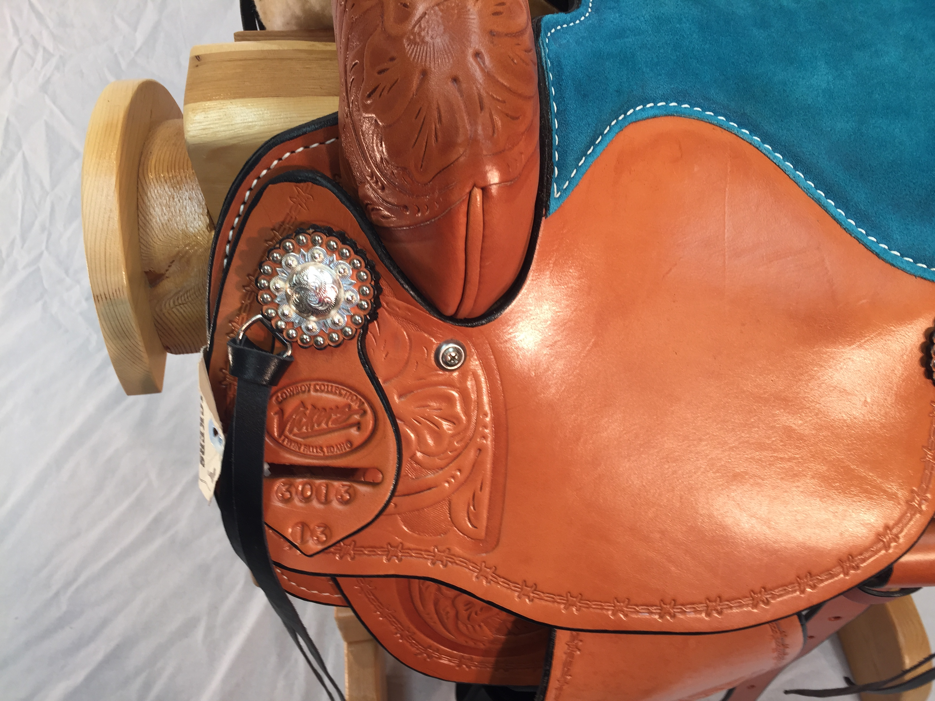 USA Made Barrel Saddle 032114