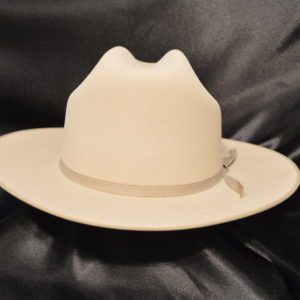 "106 - Serratelli Cattleman 2 3/4"" Brim - Silverbelly"