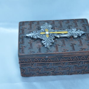 Cross Jewelry Box
